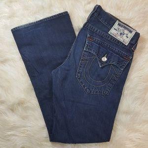 True Religion Men's Billy Bootcut Jeans 34×34